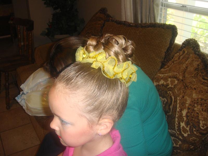 Dance recital hair and makeup